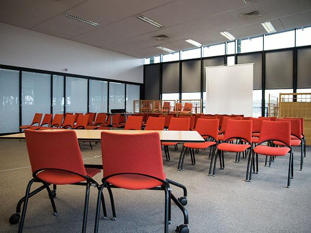 Des salles de réunion