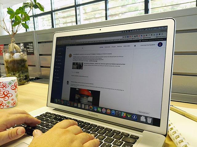 Une plate-forme collaborative en ligne
